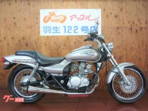 カワサキ/エリミネーター125 シルバーカラー スーパートラップマフラー