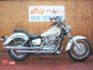 ヤマハ/ドラッグスター250 VG02J ホワイトカラー スクリーン
