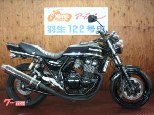 カワサキ/ZRX400-II ブラック WR'Sマフラー