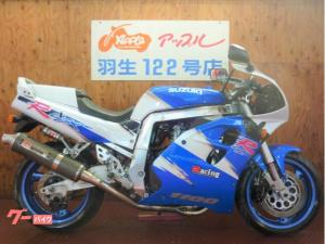 スズキ/GSX-R1100 ヨシムラマフラー WPリヤショック