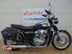 カワサキ/W800 レッグシールド エンジンガード シフトインジゲーター付