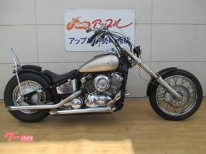 ヤマハ/ドラッグスター400 ローロング シーシーバー ドラッグパイプ