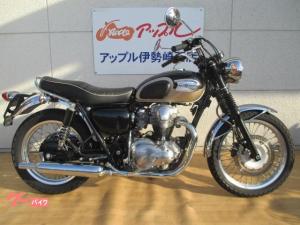 カワサキ/W650 グラブバー付