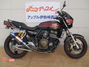 カワサキ/ZRX400-II フルエキチタン オーリンズ ビキニカウル付