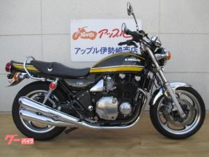 カワサキ/ZEPHYR1100 グリーンタイガー 4本出しマフラー