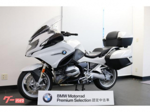 BMW/R1200RT アルピンホワイト トップケース装備