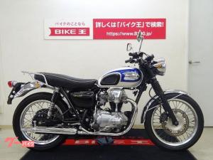 カワサキ/W650 リアキャリア装備