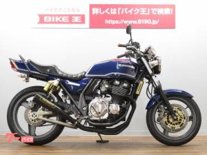 カワサキ/ZRX400-II マーク2カラー SUDOCOメガホンマフラー タックロールシート