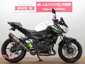 カワサキ/Z250 現行モデル BEAMSマフラー バックステップ付き