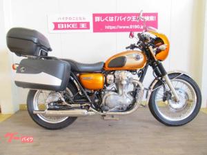 カワサキ/W800 ヘプコ&ベッカー製パニアケース装備