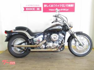 ヤマハ/ドラッグスター400 キャブレターモデル スラッシュカットマフラー