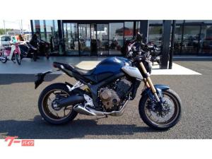 ホンダ/CB650R 2021モデル マットジーンズブルーメタリック