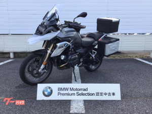 BMW/R1200GS フロントタイヤ新品・純正クイックシフター・純正3点パニア・純正ナビV 付