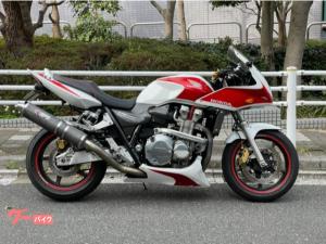 ホンダ/CB1300Super Four ドリームスペシャル ホワイトパワーRサス アンダーカウル Rインナーフェンダー  限定車
