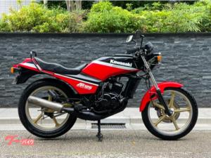 カワサキ/AR125 水冷2ストローク 22PS GPzカラー カウルレス ゴールドキャストホイール 油圧式ディスクブレーキ