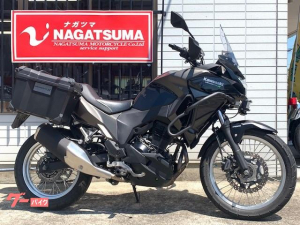 カワサキ/VERSYSーX 250 2018年モデル・純正OPパニアケース&エンジンガード