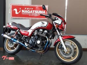 ホンダ/CB750  2007年モデル Kファクトリーフルエキ ナイトロンリヤサス 他カスタム多数