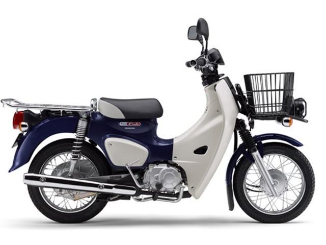 ホンダ スーパーカブ50プロ 最新モデルの画像(東京都