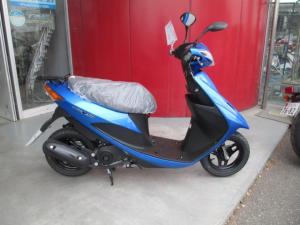 スズキ/アドレスV50 最新モデル 新色ブルー