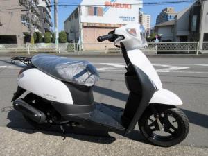 スズキ/レッツ最新モデル 日本生産モデル