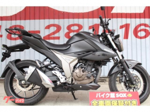 スズキ/GIXXER 250 2020年モデル リアキャリア付