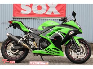 カワサキ/Ninja 250 WR'Sマフラー ハンドルカスタム
