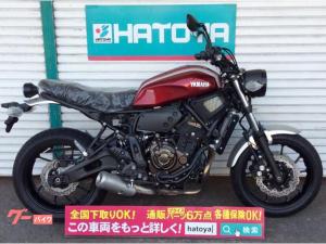 ヤマハ/XSR700 2018モデル