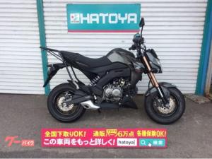 カワサキ/Z125PRO 国内正規車 リヤキャリア付