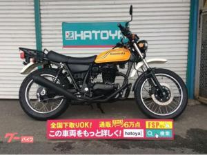 カワサキ/250TR センタースタンド 大型キャリア バンパー付