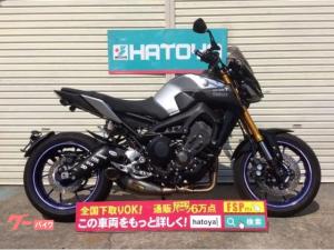ヤマハ/MT-09SP アクラポフルエキ LEDウィンカー スクリーン カーボンマットガード スライダー