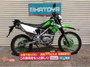 カワサキ/KLX125 ZETAレバー&ハンドガード ホイルカバー リアキャリア装備