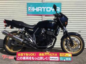 カワサキ/ZRX400 2003年ブラック&ゴールド ナサートマフラー フェンレス ETC