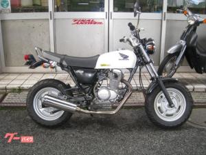 ホンダ/Ape100 マフラー HC07 ホワイト