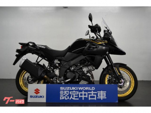 スズキ/V-ストローム1000XT スズキワールド認定中古 ブラック スポーク
