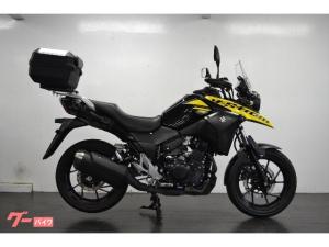 スズキ/V-ストローム250 リアボックス ETC イエロー/ブラック