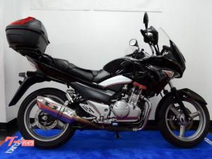 スズキ/GSR250S リヤボックス・ヘルメットロック付