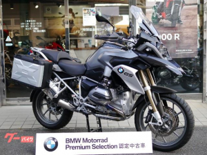 BMW/R1200GS純正パニアケース付き
