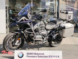 BMW/R1200GSアドベンチャー・PS・トリプルブラック・純正アルミフルパニアケース付