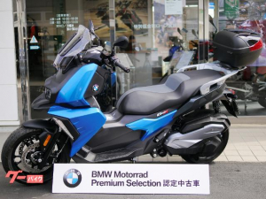 BMW/C400X・TFT液晶メーター・ETC2.0車載器・純正トップケース付・BMW認定中古車