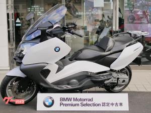 BMW/C650GT・ライトホワイト・純正キャリア・スマホホルダー付