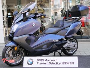 BMW/C650GT オーシャンブルーメタリックマット サイドビューアシスト 純正トップケース ETC2.0 2019年登録 認定中古車