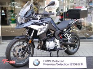 BMW/F750GS プレミアムライン ステレオメタリックマット 純正トップケース ドライブレコーダー前後カメラ 未転倒 BMW認定中古車