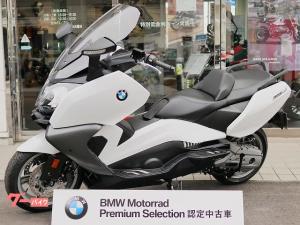 BMW/C650GT・ライトホワイト・グリップ&シートヒーター・サイドビューアシスト・生産中止モデル・BMW認定中古車保証1年付