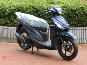 スズキ/アドレス110 現行モデル 新車 コンビブレーキ マットブルー