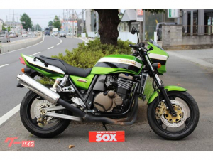カワサキ/ZRX1200R ハンドルブレース付き