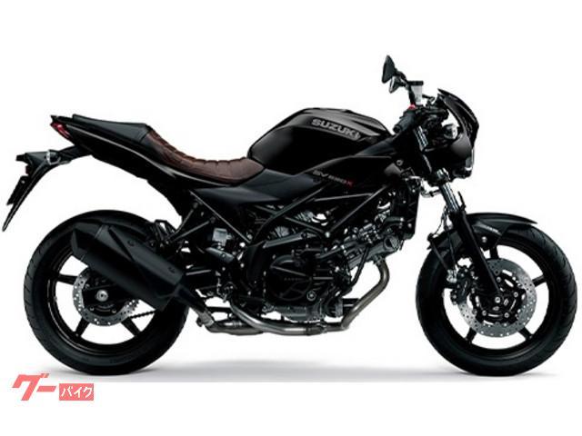 スズキ SV650X 国内M0モデル グラススパークルブラックの画像(千葉県