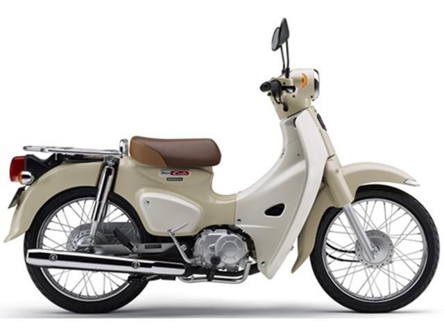 ホンダ スーパーカブ110 国内最新モデル ベージュの画像(千葉県