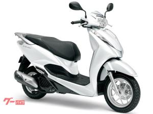 ホンダ/リード125 国内最新モデル 単色ホワイト