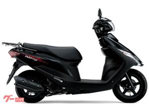 スズキ/アドレス125 国内M0モデル ブラック
