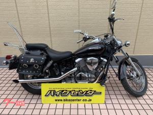 ヤマハ/ドラッグスター250 ブラック マフラー社外